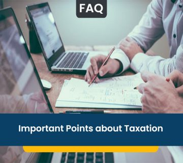 Important Points about Taxation