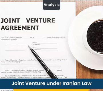 Joint Venture under Iranian Law