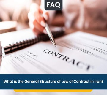 What is the General Structure of Law of Contract in Iran?