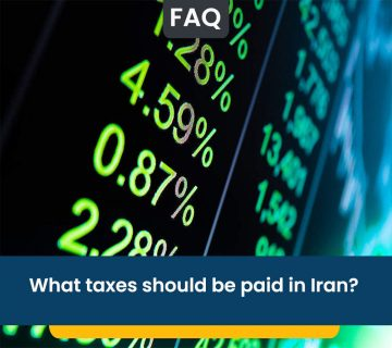 What taxes should be paid in Iran?