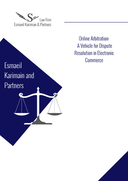 Online_Arbitration-_A_Vehicle_for_Dispute_Resolution_in_Electronic_Commerce