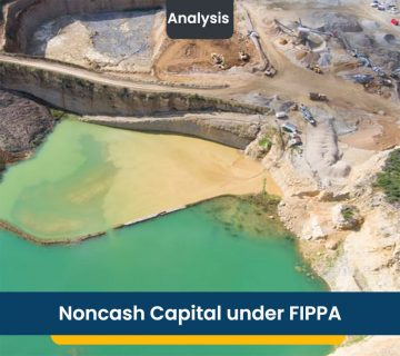 Noncash Capital under FIPPA