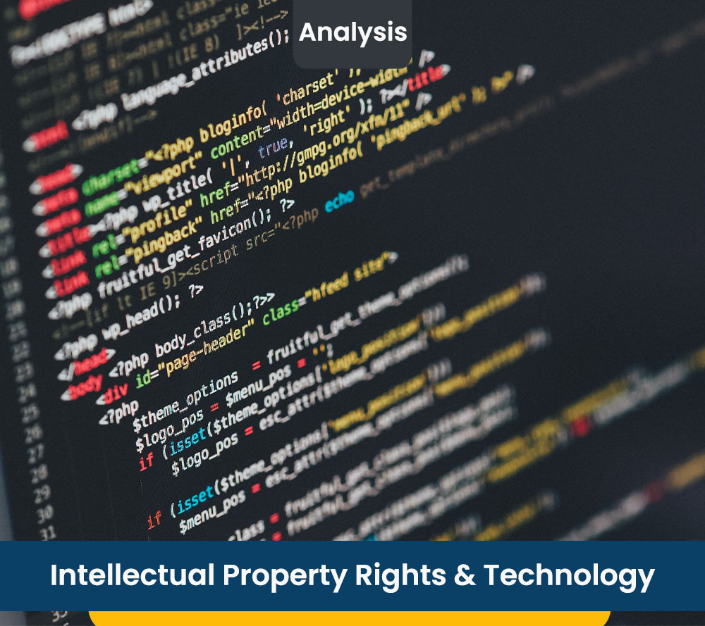 Intellectual Property Rights & Technology & Technology
