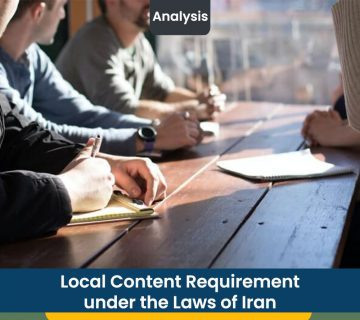 Local Content Requirement